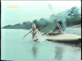 old German movie - Canoe