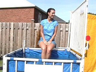 Chantal mini skirt dunk tank clip