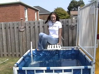Jessie Dunked In Jeans