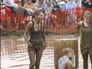 Pig Wrestling - 2007 Thresheree : Episode 1