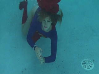 Supergirl Underwater Music Video