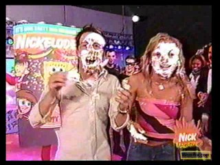 Nick TV show - hostess pie'd