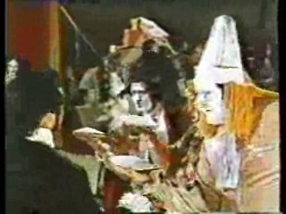 Circus Pie Fight,  Bette Midler, Crackerjack,  How Dare You
