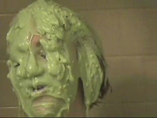 Caitlin slimed (2 scenes)
