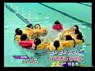 German TV,  Flight Attendant's Pool Training