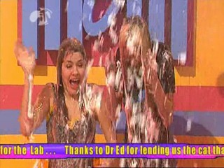 Caprice and Holly Gunged