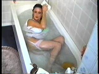 Teresa May in the bath