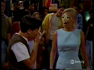 Step by Step -- Staci Keanan food fight