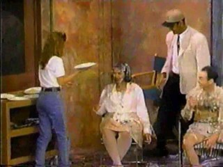 Charles Perez Show - Woman takes several pies in the face