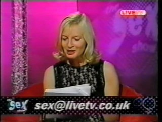 The sex show live tv