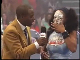 woman pied on tv
