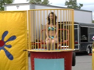 Canadian Dunk Tank Girls - pt1