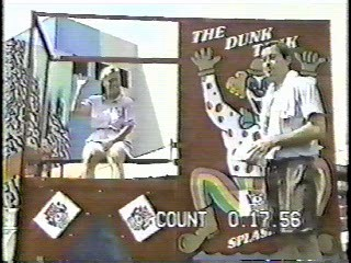 Nick TV Dunk Tank,  Problem Child